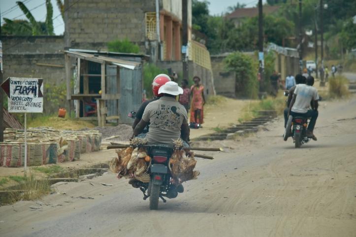 Image d'illustration d'un taxi moto